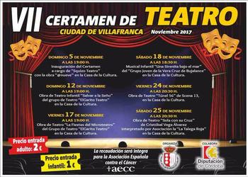 VII Certamen de Teatro Villafranca de Córdoba