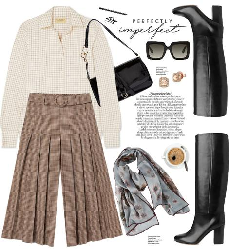 zstyle fashion moda streetstyle influencers botas altas culotte vogue ootd jueves