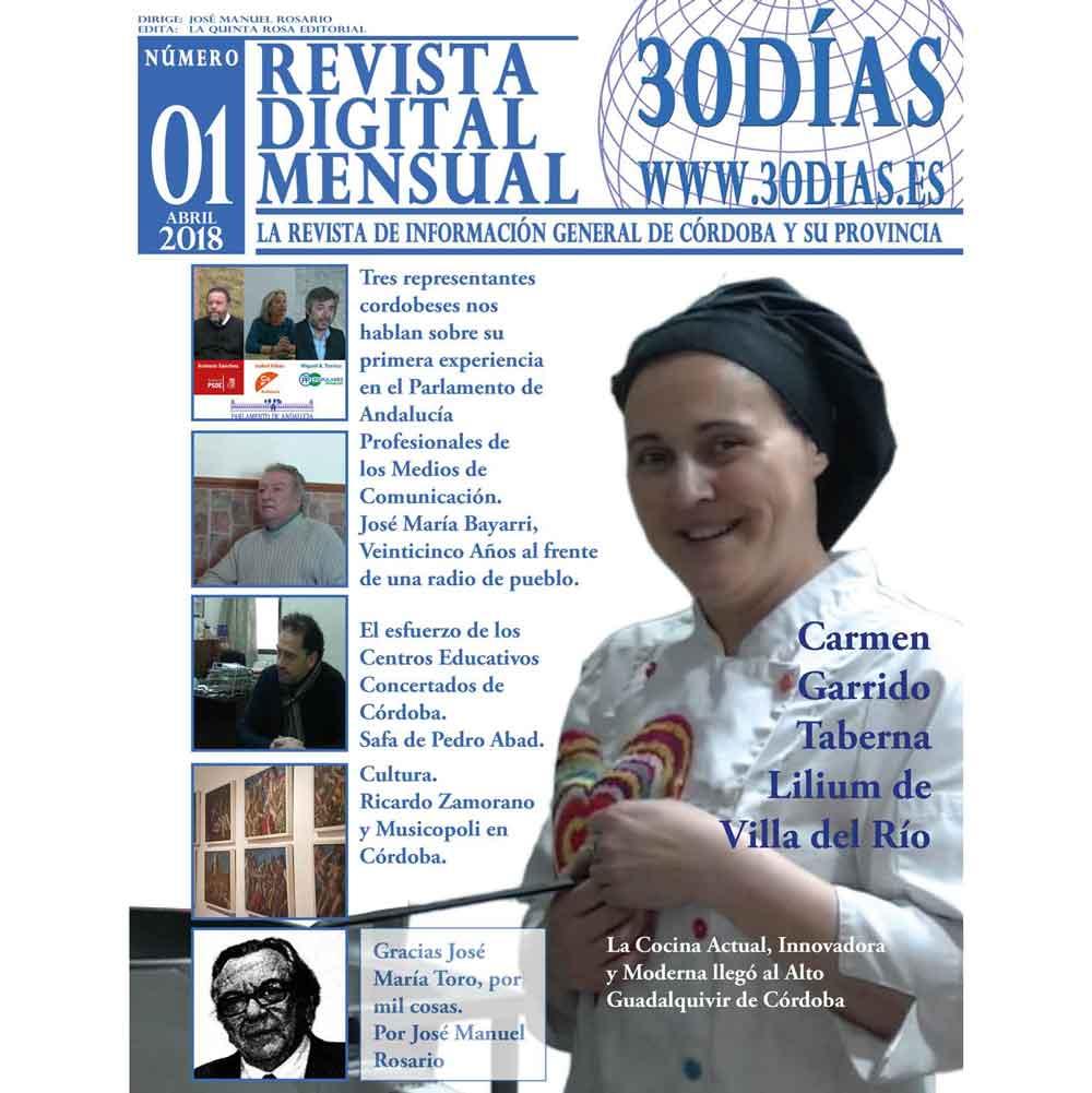 Revista Digital 30Dias.es Num 1 Abril 2018